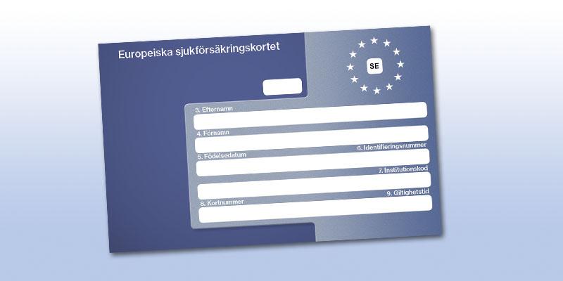 Beställ EU-kortet