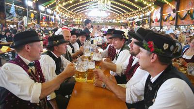 Bremen med oktoberfest